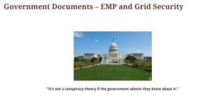 EMP and Grid Security