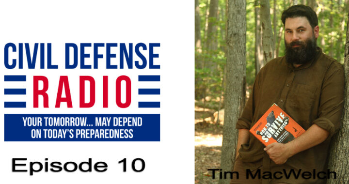 Episode 11, Survival with Tim MacWelch